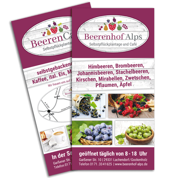 Beerenhof Alps // Flyer