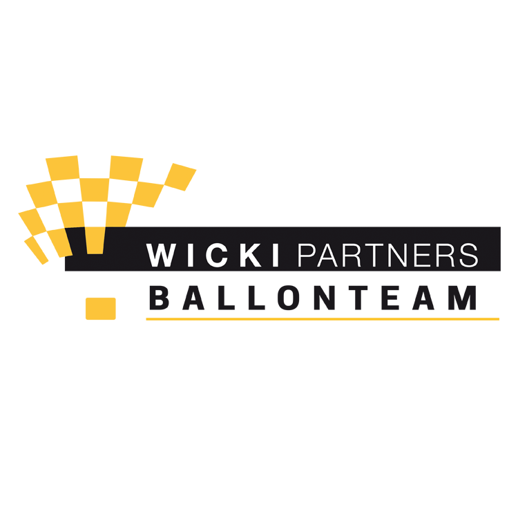 Wicki Partners Ballonteam // Logogestaltung